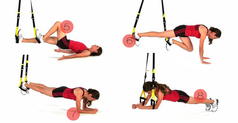 Trx træning øvelser – Kostprogram til vægttab